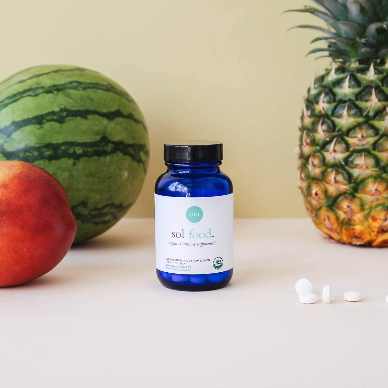 Ora Organic Vitamin D3 Supplement