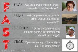 stroke early warning symptoms