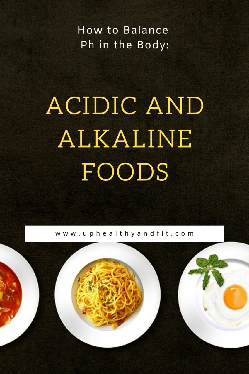 how-to-balance-ph-in-the-body-acidic-and-alkaline-foods