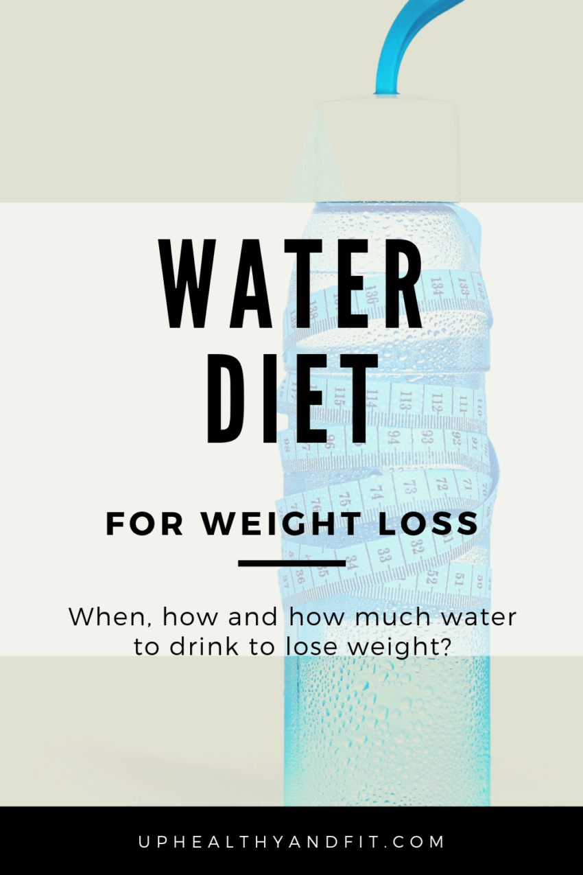 what-is-a-water-diet-for-weight-loss