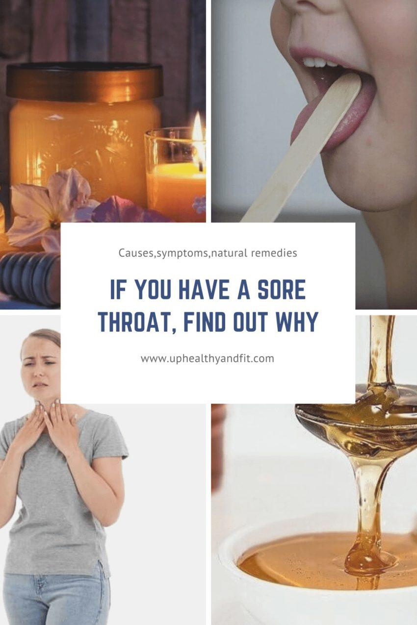 sore throat natural remedies