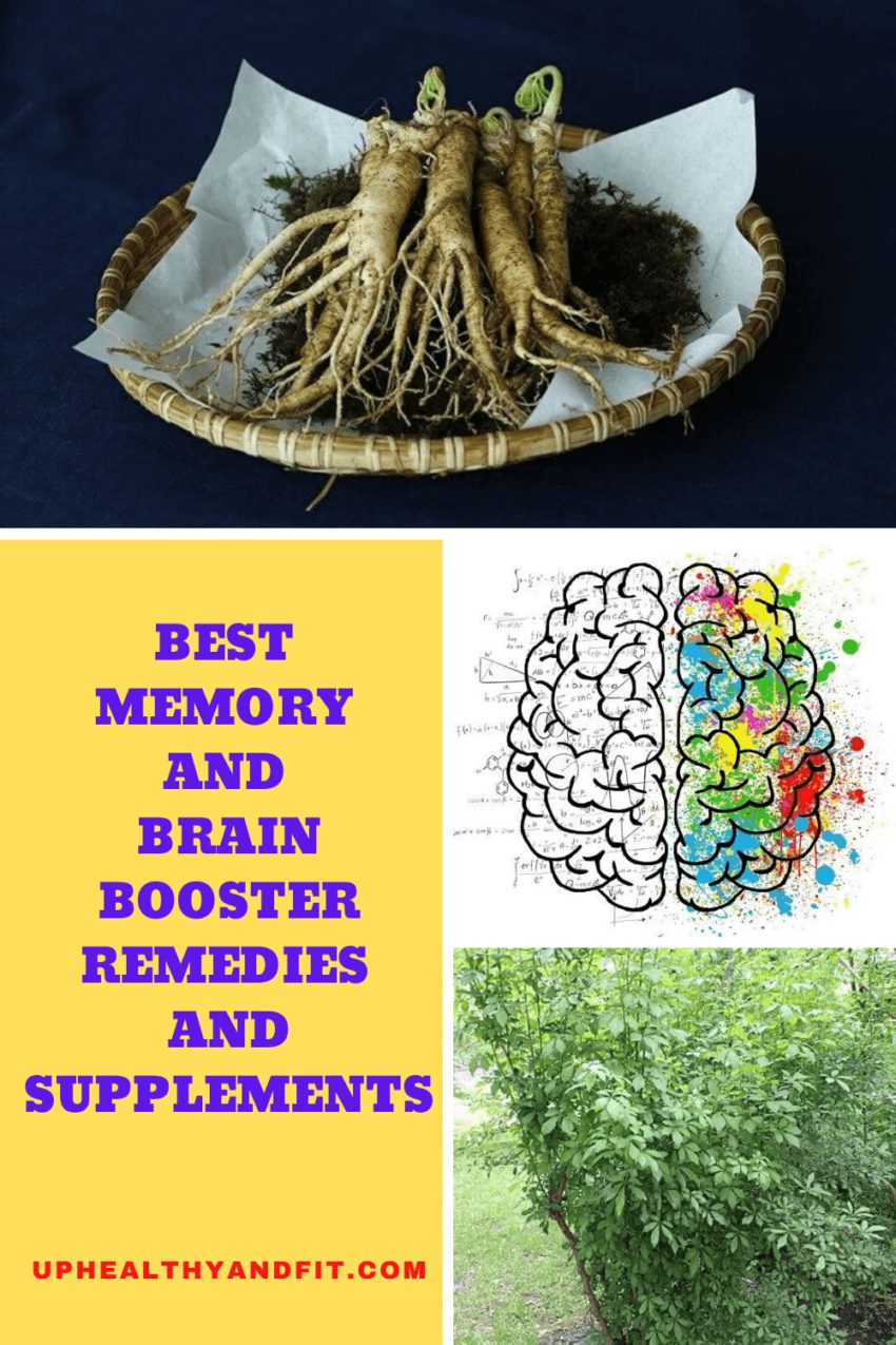 BEST MEMORY AND BRAIN BOOSTER REMEDIES AND SUPPLEMENTS